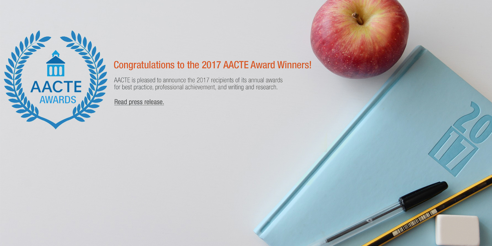 Congratulations to All AACTE Award Winners