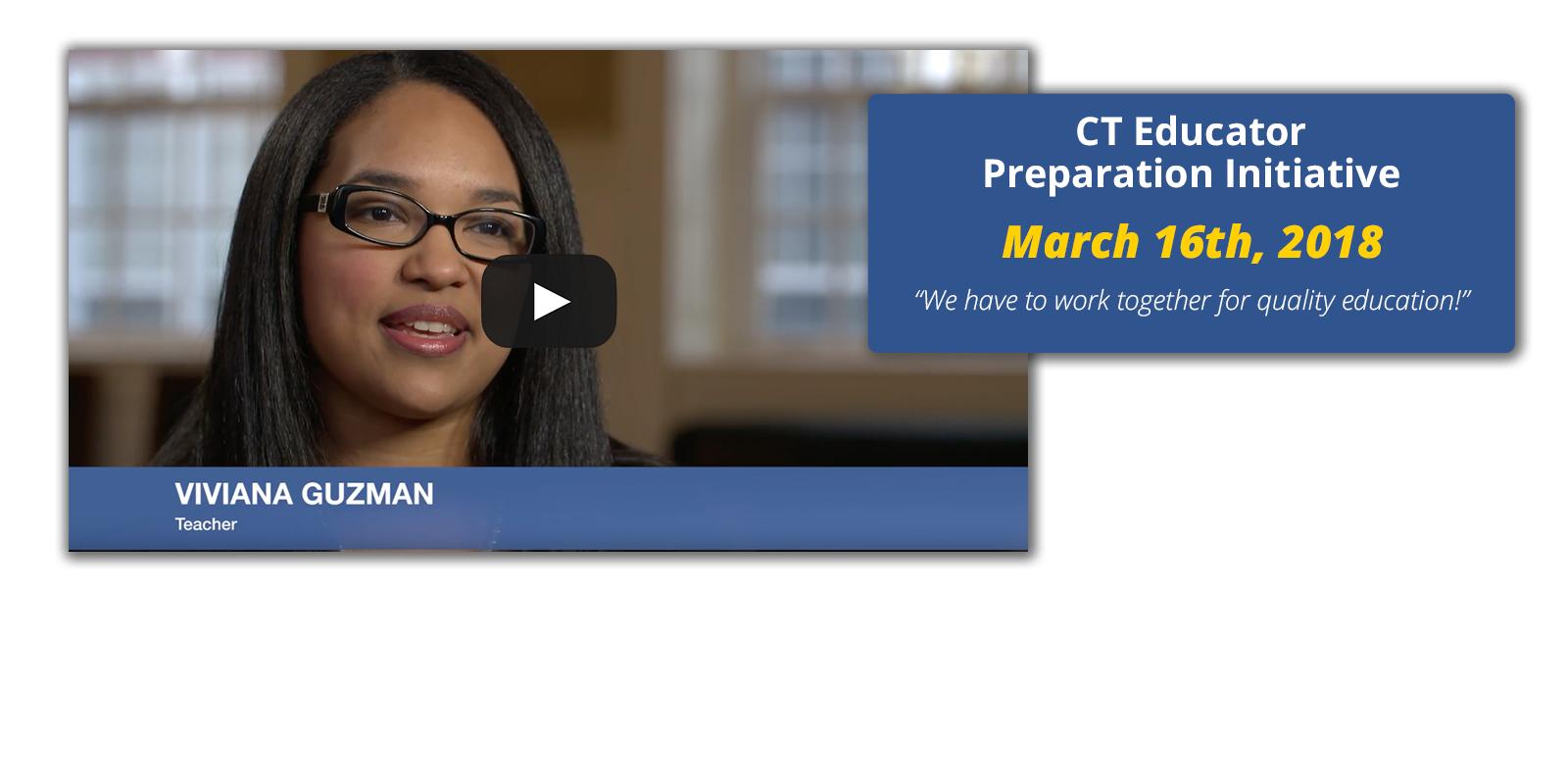 Connecticut Educator Preparation Initiative 2018