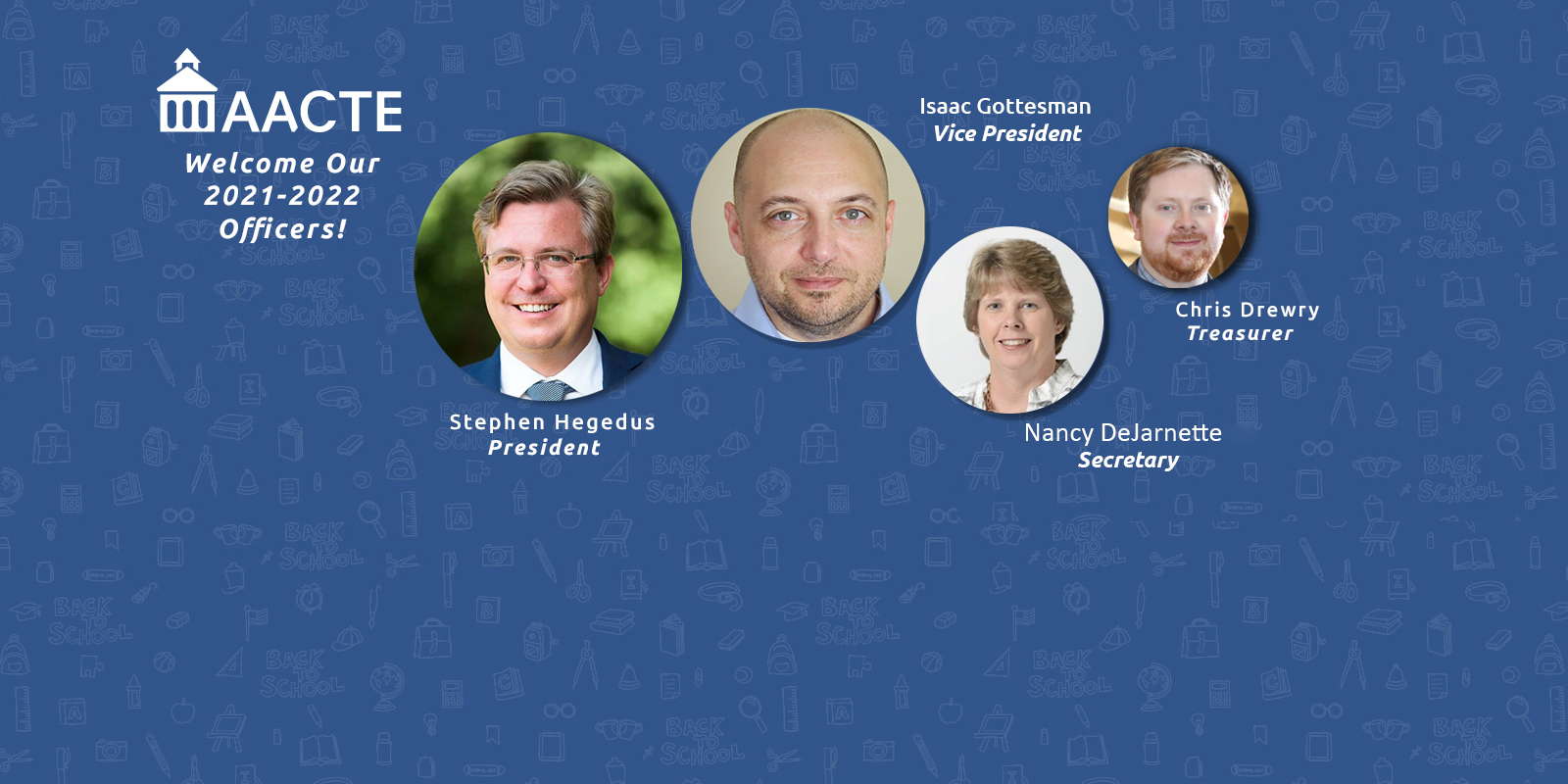 AACTE-CT Welcomes Our New Officers